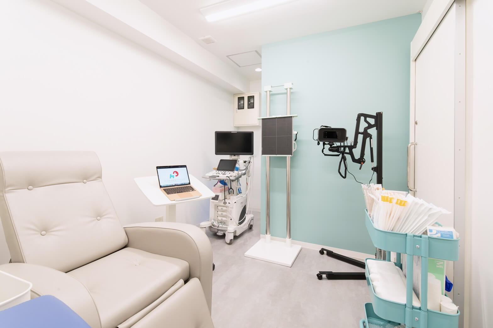 写真:一般外来診療室